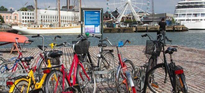 Dónde alquilar una bicicleta en Helsinki