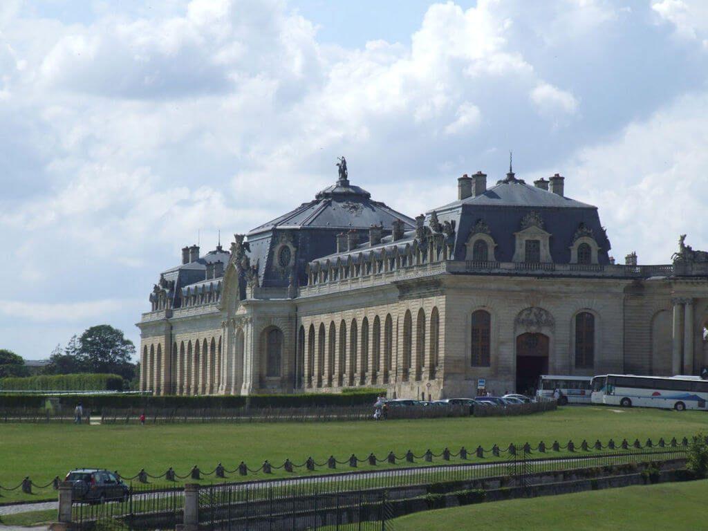 chantilly afueras de París