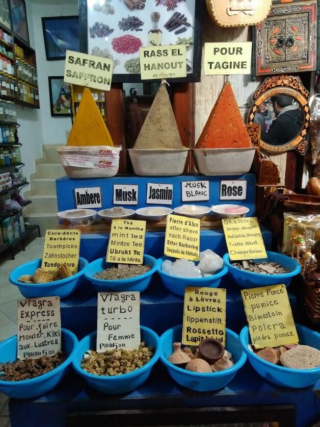 especias especialidades de Marruecos
