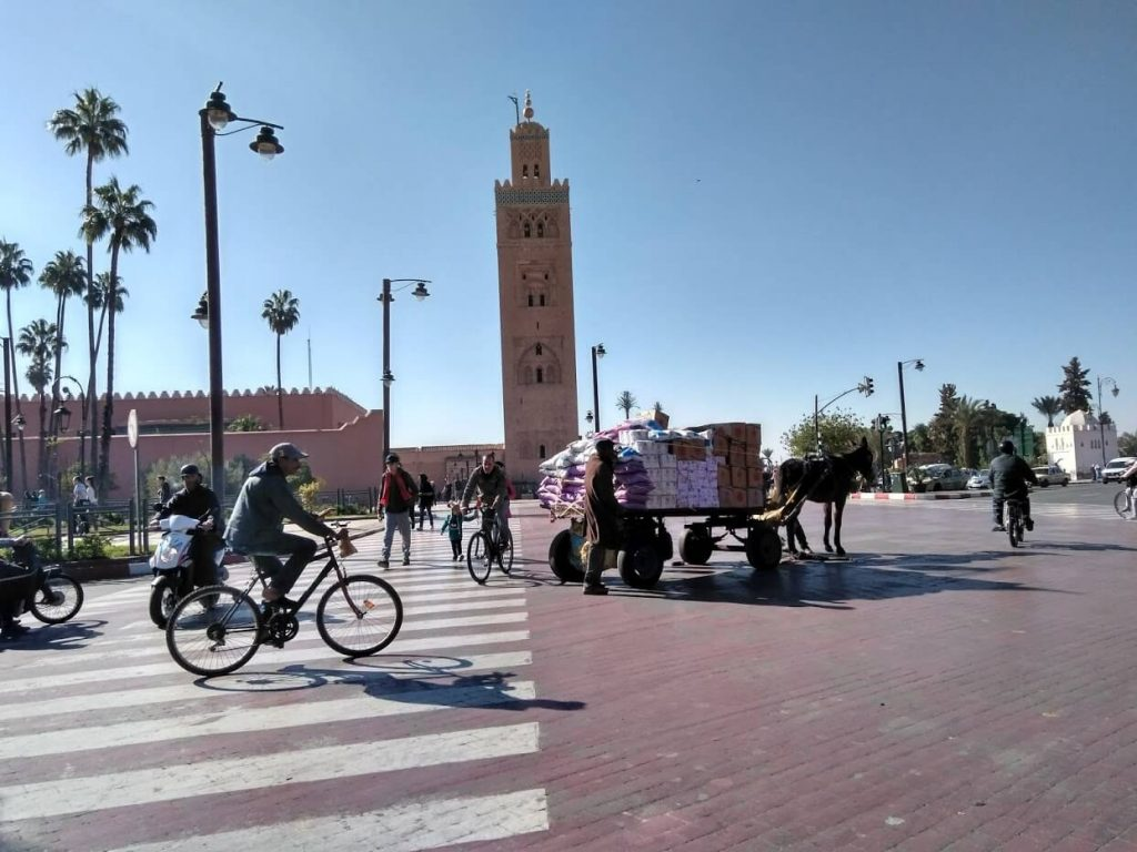 Mezquita Kutubía Marrakech