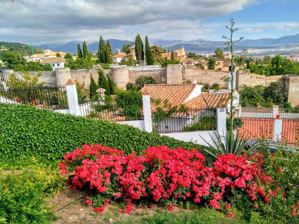 Granada mirador de san cristóbal
