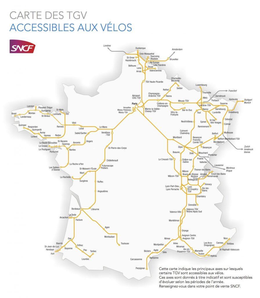 viajar con la bici en tren tgv
