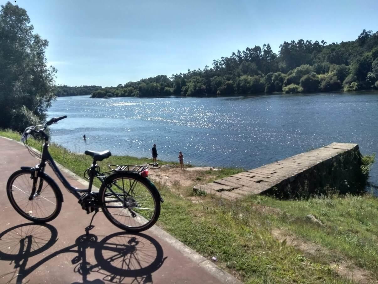 cicloturismo en el norte de Portugal
