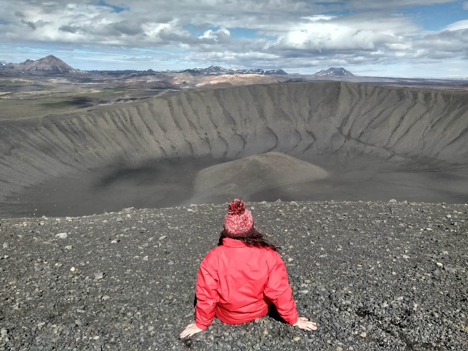 7 días por Islandia Hverfjall