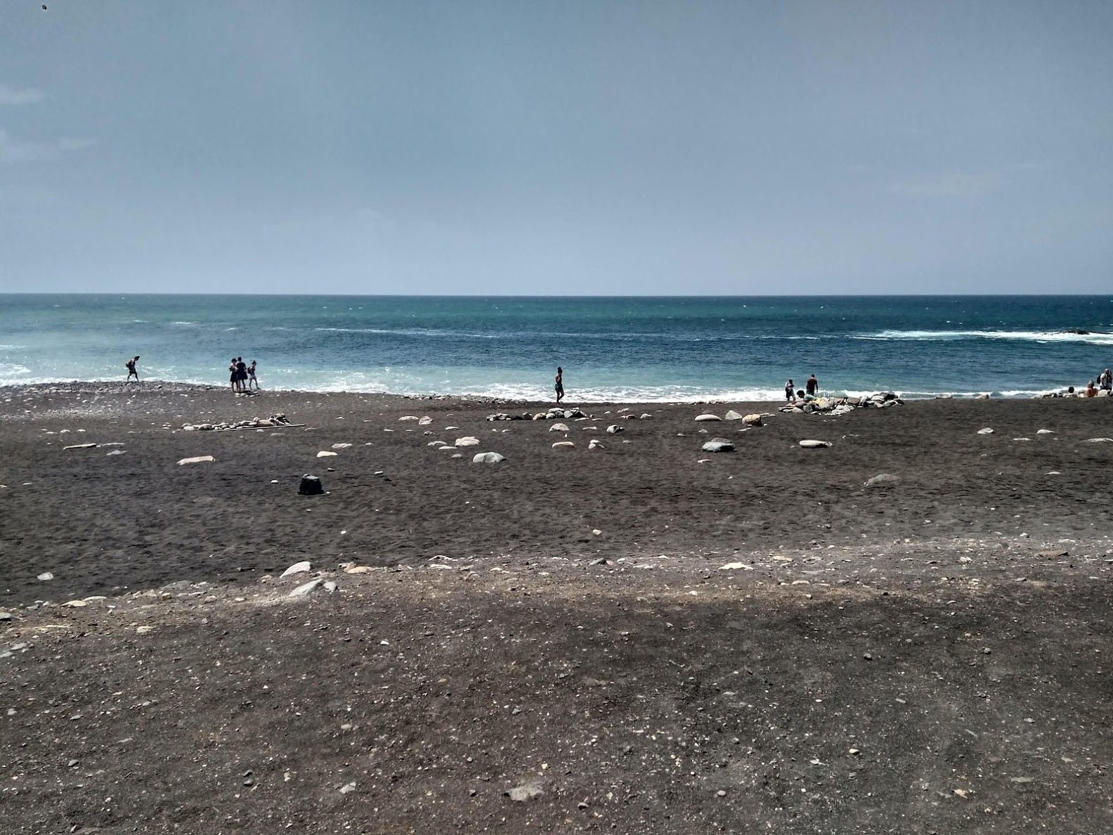 Playa de arena negra de Ajuy