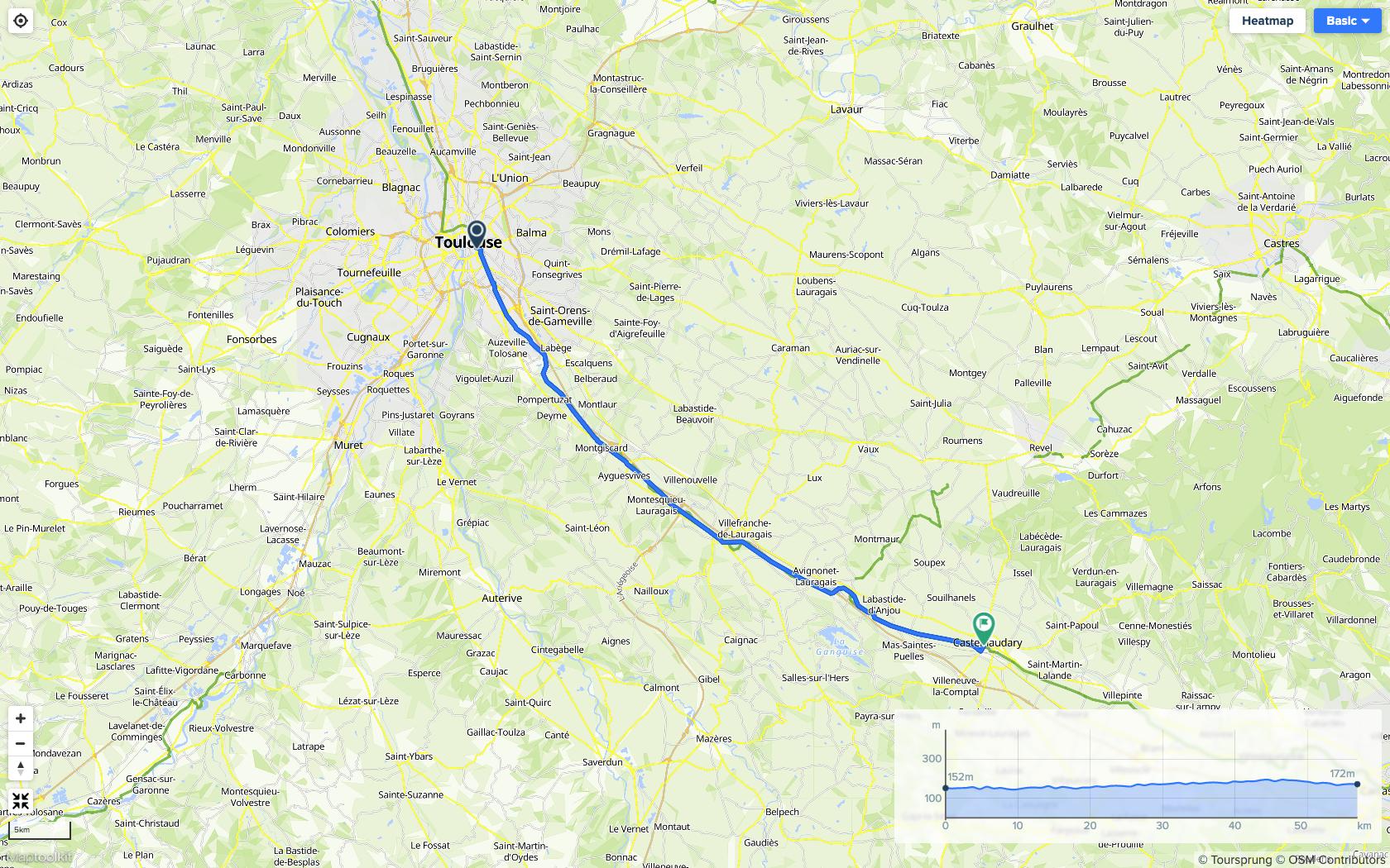 Canal du Midi en bicicleta