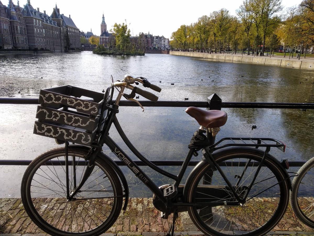 Ruta circular desde Rotterdam en bicicleta