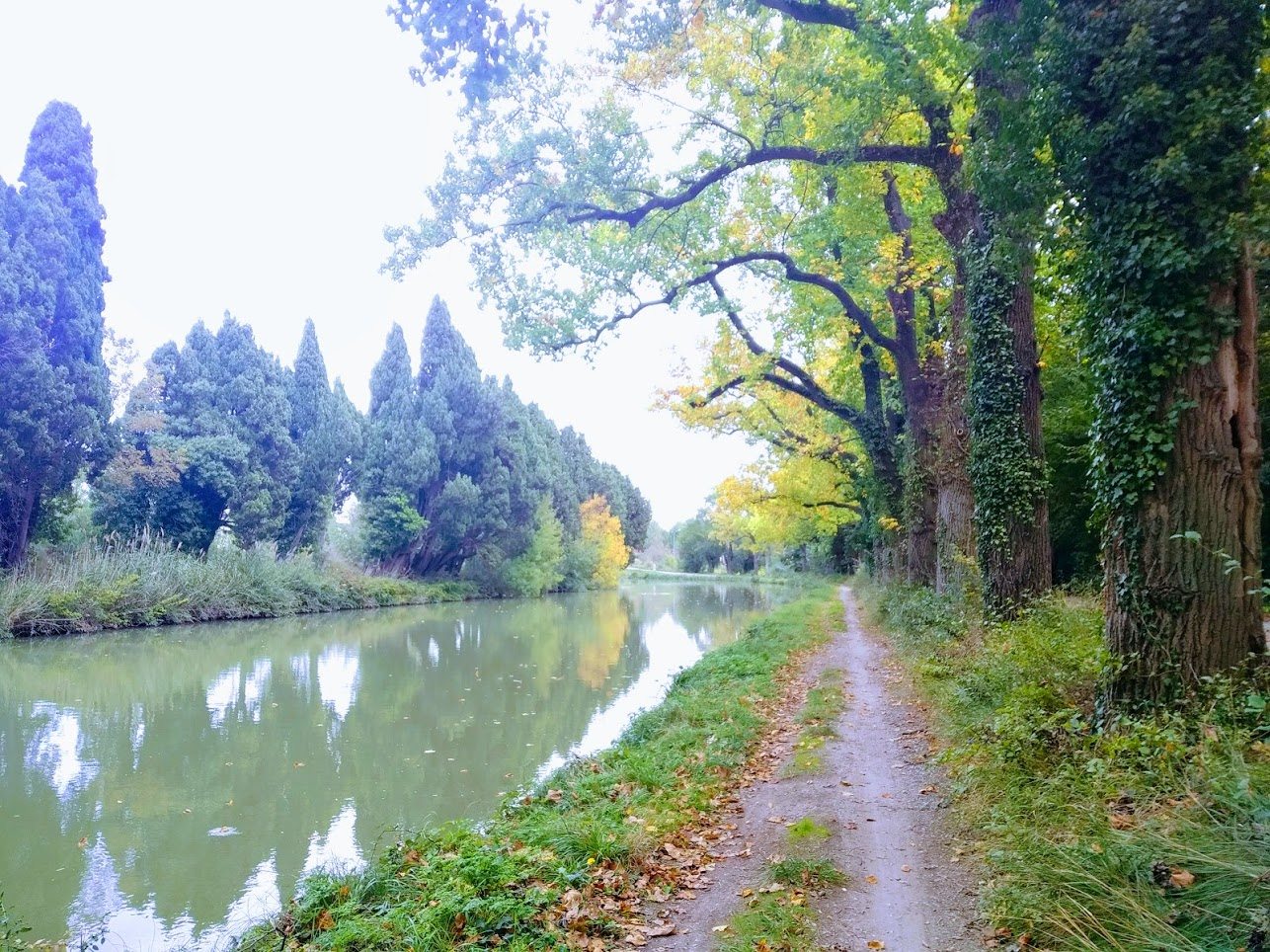 Canal du Midi en bicicleta: de Toulouse a Sète