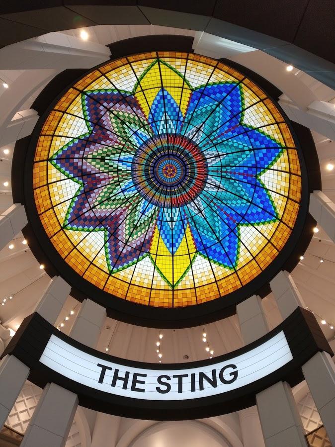 Vidriera del edificio The Sting - La Haya
