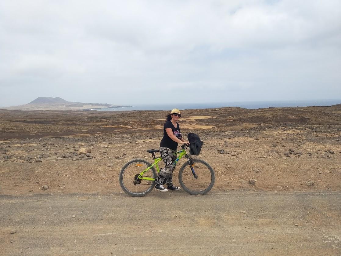Rutas en bicicleta por La Graciosa (Lanzarote)